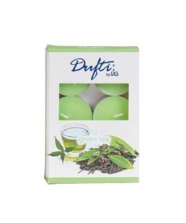 Pastile Ceai Verde 4 ore Dufti by Gies, set/6