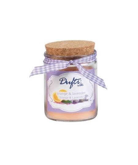 Pahar Marmelo Portocala & Lavanda 25 ore Dufti by Gies, 80 x 60 mm